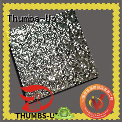 interior stainless steel checker plate manufacturer for nameplate Thumbs-Up