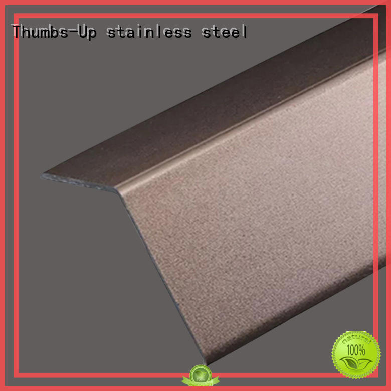 Wholesale gold decorative stainless steel strips Thumbs-Up Brand