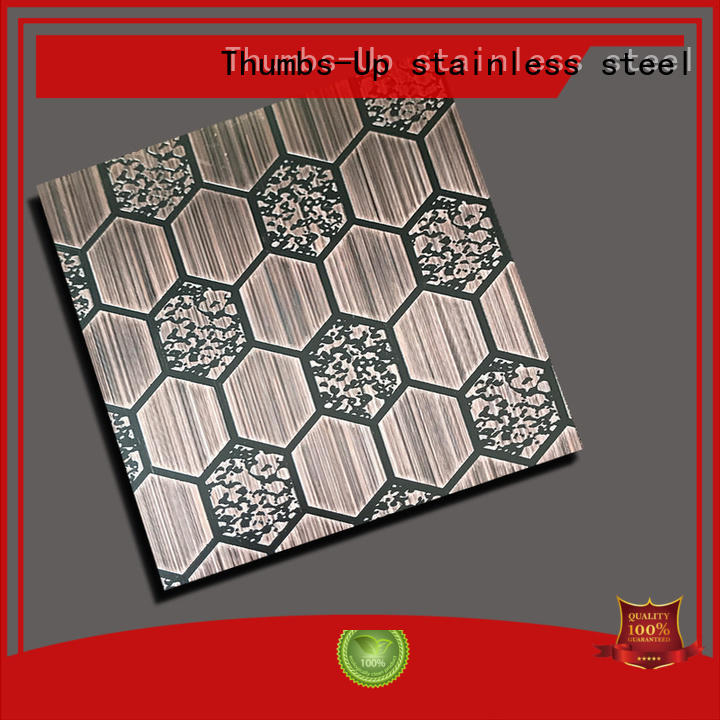 Thumbs-Up ancient stainless steel etching sheet money for ceiling
