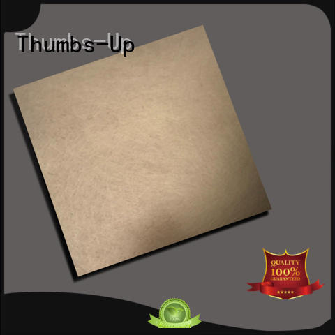 sand blasting dark gray stainless steel sheet cut to size finish light Thumbs-Up company