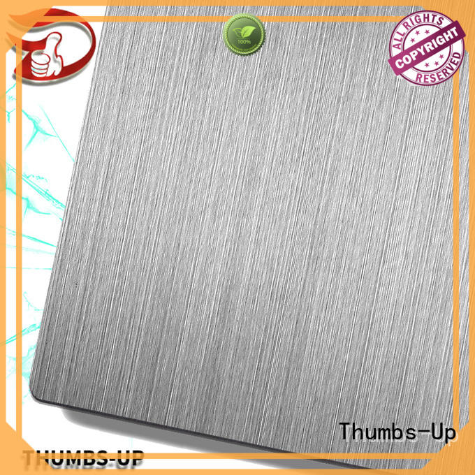 Thumbs-Up colorful stainless steel plate stock supplier for hotel