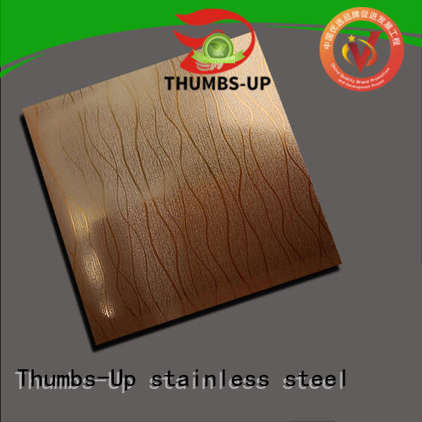 Thumbs-Up rotary stainless steel plate thickness supplier for elevator