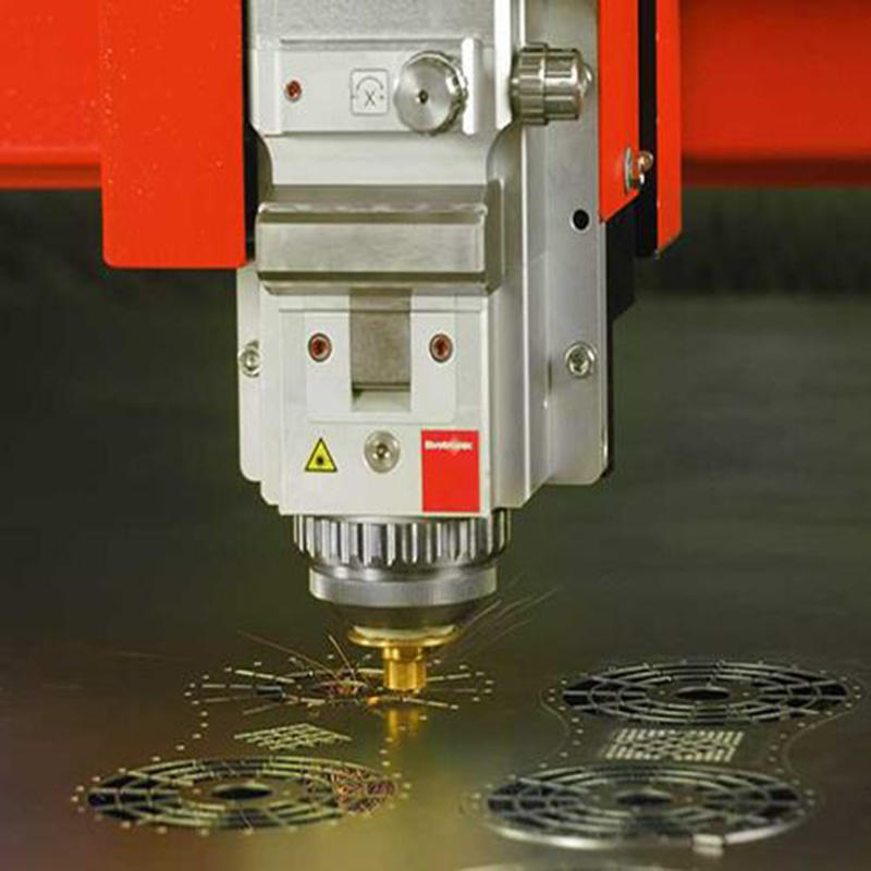 Laser cutting processing video