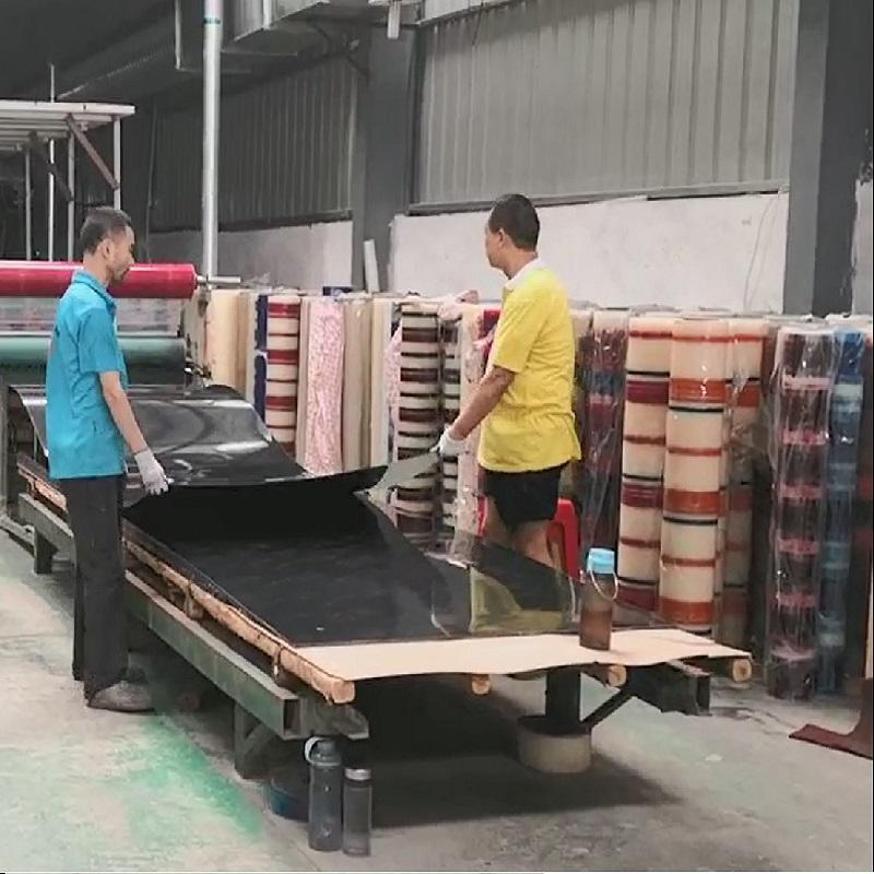 Color plate production line