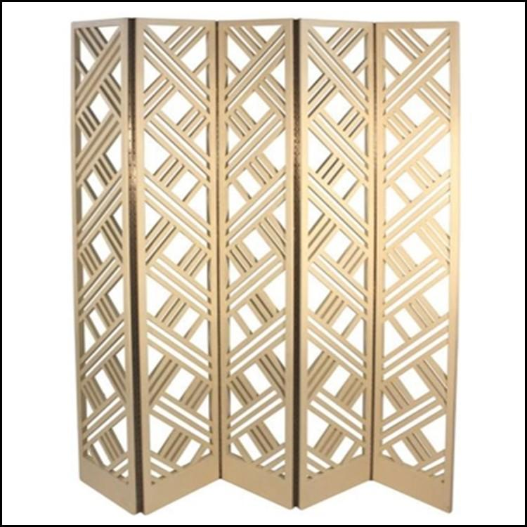 decorative room dividers gold for living room Thumbs-Up