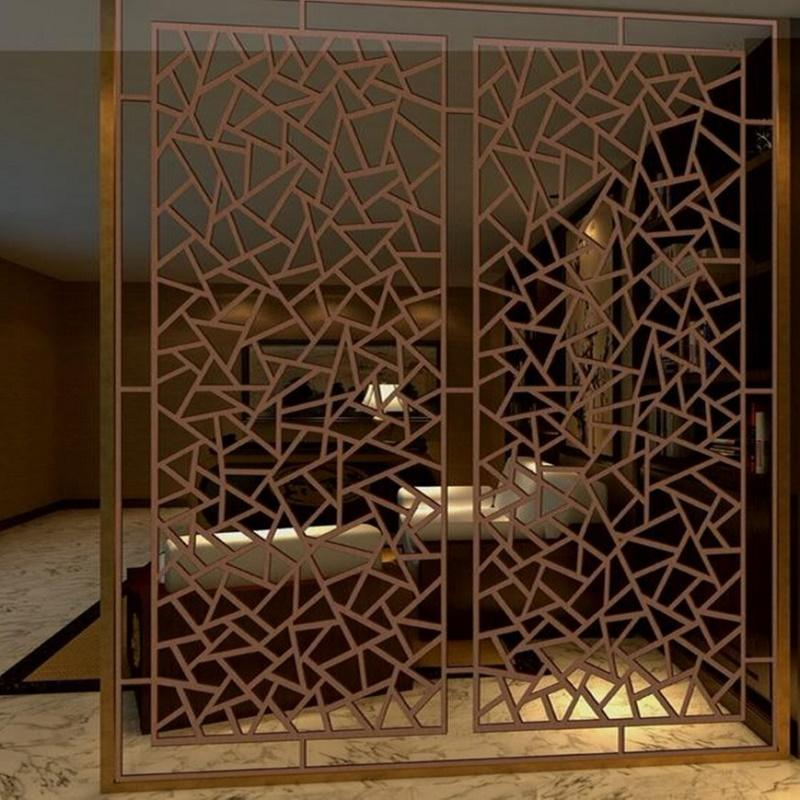 Copper plated stainless steel hollow screen