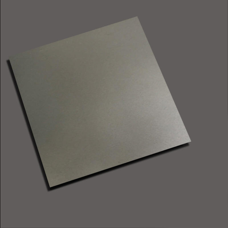Sandblasting+Gray stainless steel nanometre coating plate
