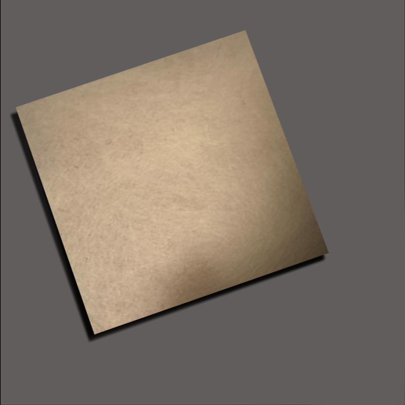 Scrible finish+Gold stainless steel nanometre coating plate