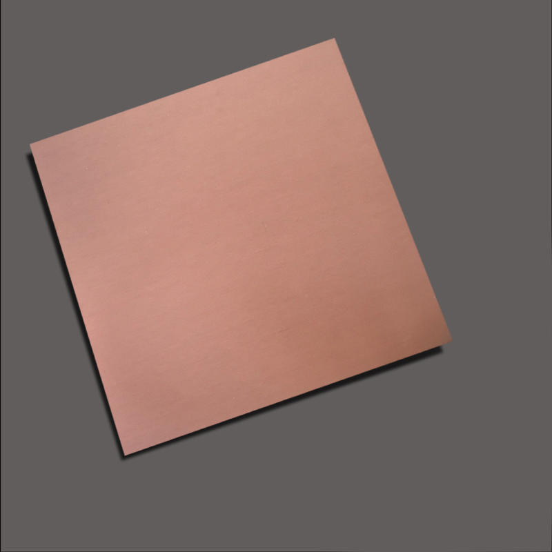 Sandblasting+Rose stainless steel nanometre coating plate