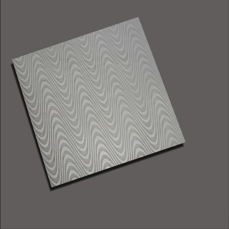 Water corrugated embossing plate