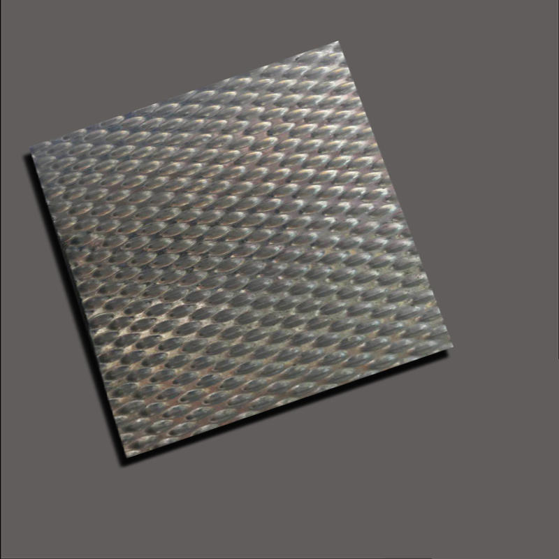 Large pearlescent embossing plate