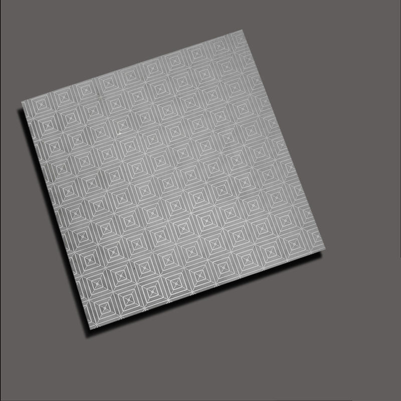 Rotary embossing plate