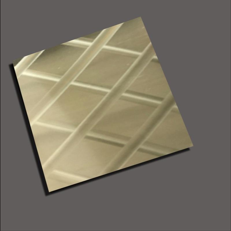 Champagne gold mirror radium
