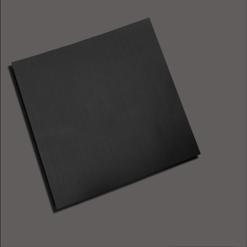 Drawing black titanium stainless steel sheet