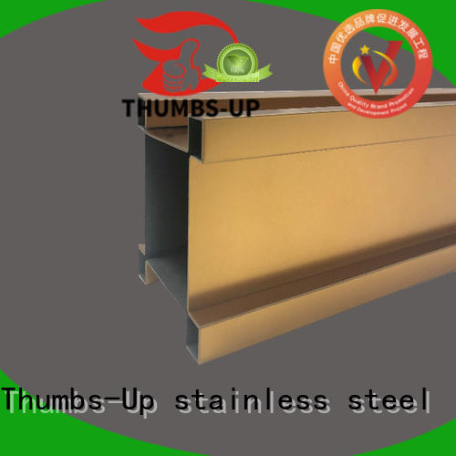 Thumbs-Up gold steel strip stock factory for store