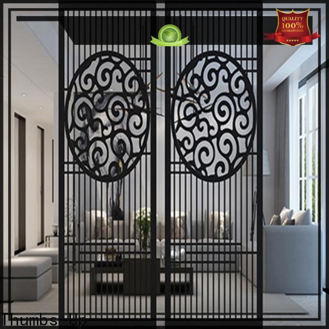Thumbs-Up vintage steel glass partition supplier for villa