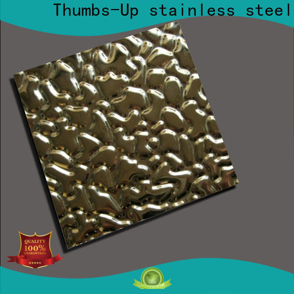 Thumbs-Up color sheet metal stamping process supplier for nameplate