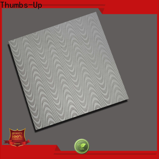Thumbs-Up red aluminum sheet metal home depot customized for elevator