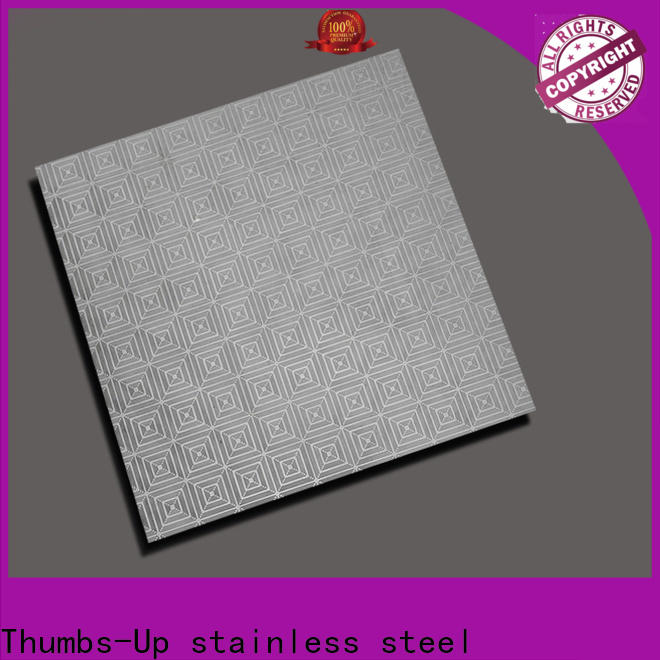 Thumbs-Up corrugated ss designer sheets customized for elevator