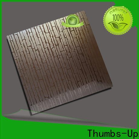 Thumbs-Up plated stainless steel decorative panels wholesale for outdoor