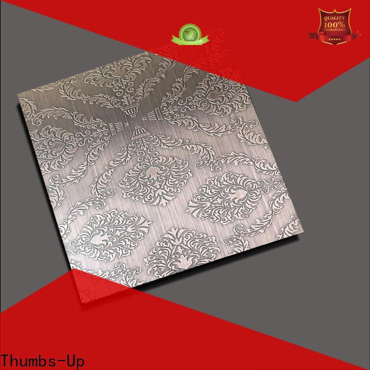 Thumbs-Up ancient stainless steel etching sheet supplier for hotel