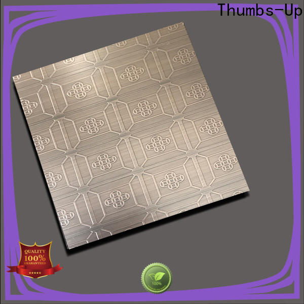 Thumbs-Up 430 etching zinc with ferric chloride supplier for ceiling