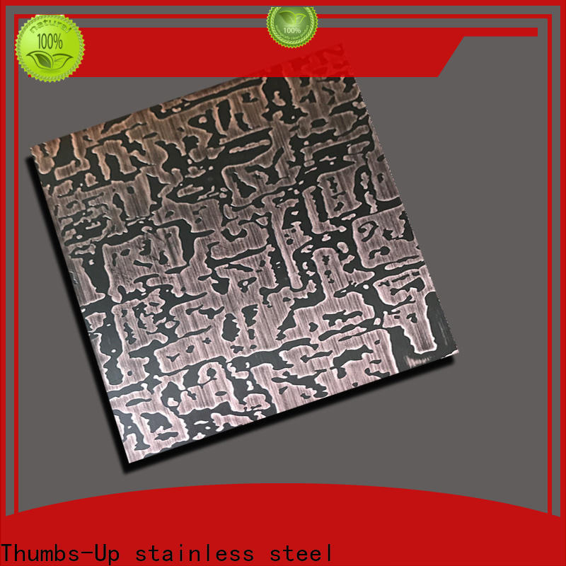 Thumbs-Up sheet color etching metal wholesale for elevator