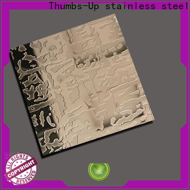 Thumbs-Up lattice laser printing on steel wholesale for hotel