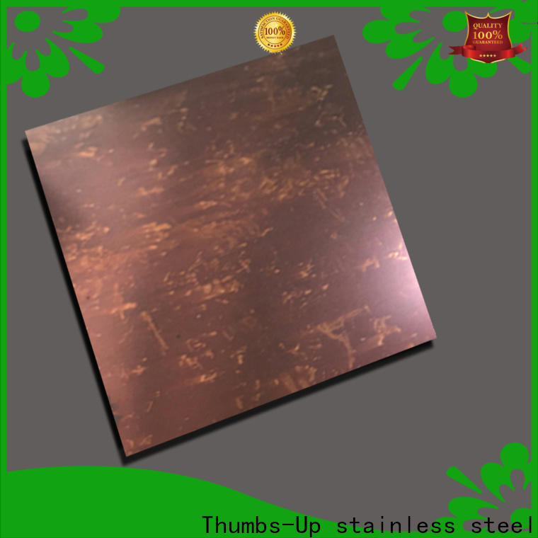 Thumbs-Up drawing stainless steel corrosion resistance table supplier for club