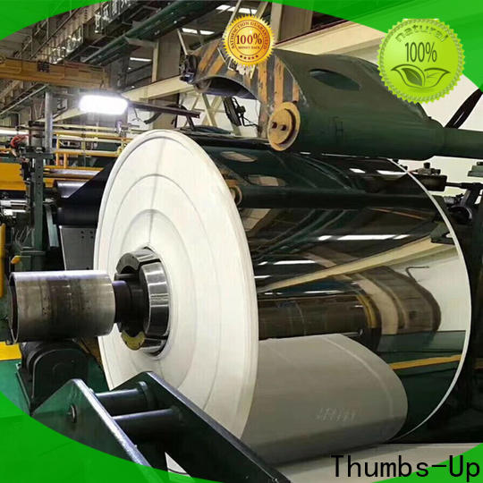 Thumbs-Up brushed spring stainless steel sheet factory for escalators