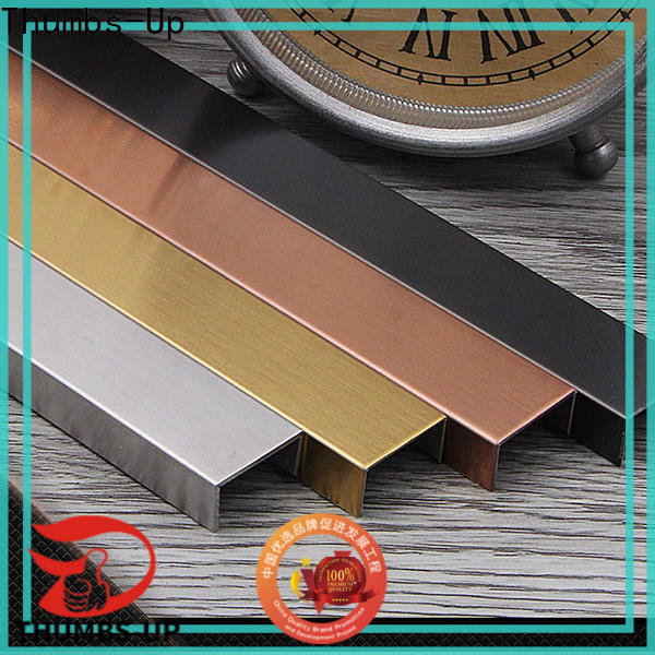 Thumbs-Up edge tile trim metal strip supplier for club