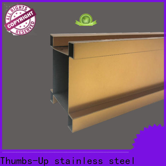 Thumbs-Up edge stainless steel sheet roll customized for store