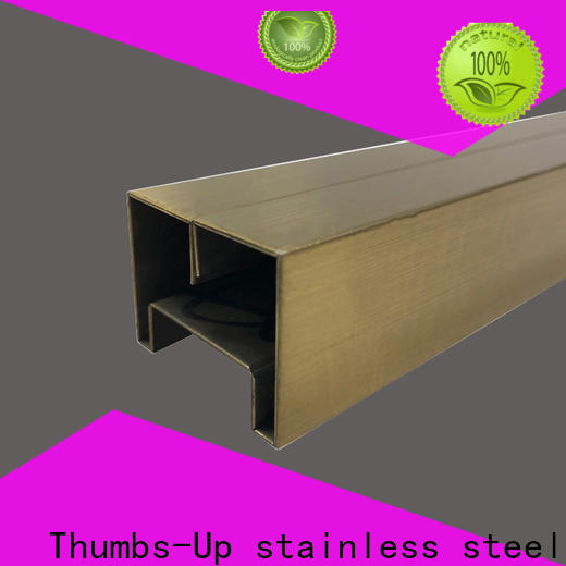 Thumbs-Up slot metal strip customized for club