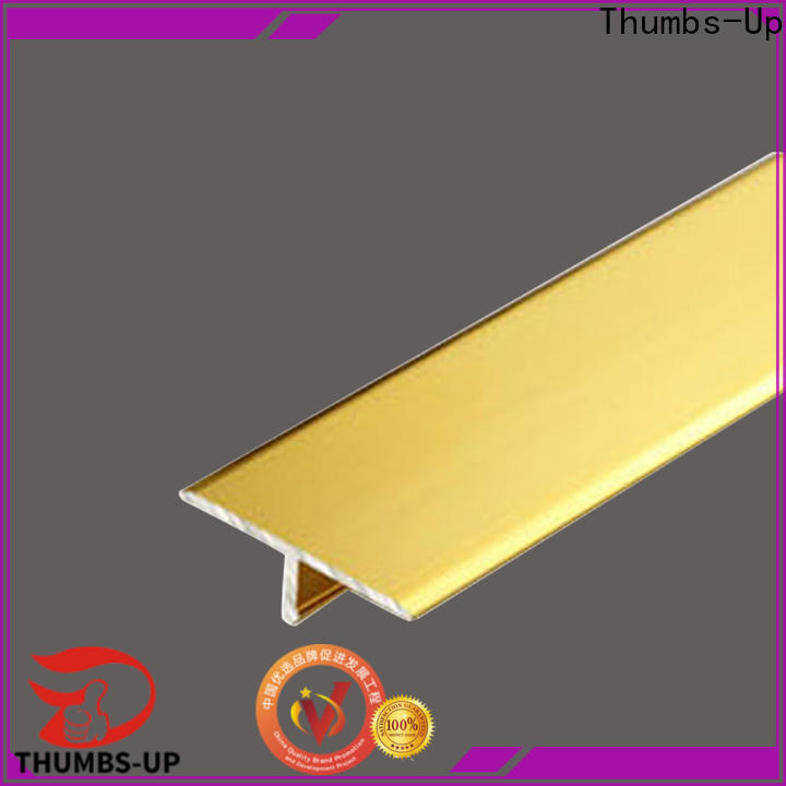 Thumbs-Up plated decorative metal strips customized for club