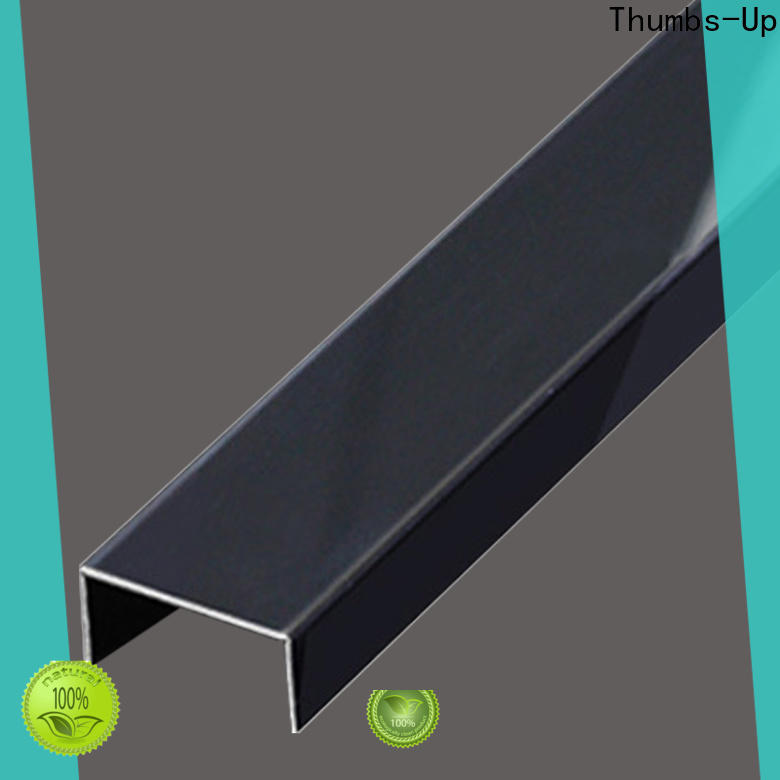 Thumbs-Up decorative stainless steel coil build manufacturer for store