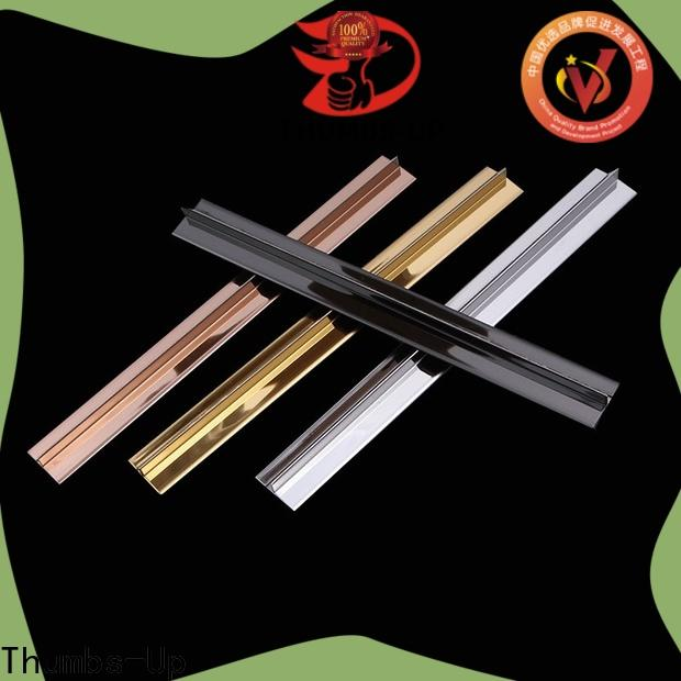 Thumbs-Up arc pliable metal strips supplier for house