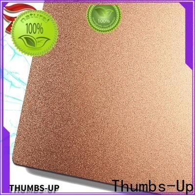 nano 4mm stainless steel plate sandblastinggold manufacturer for ceiling