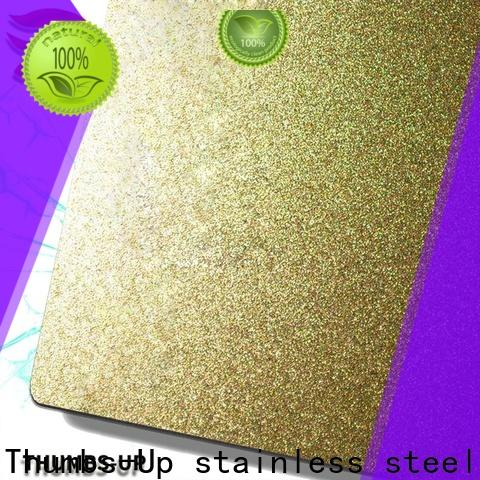 Thumbs-Up decorative steel plate bar wholesale for cabinet