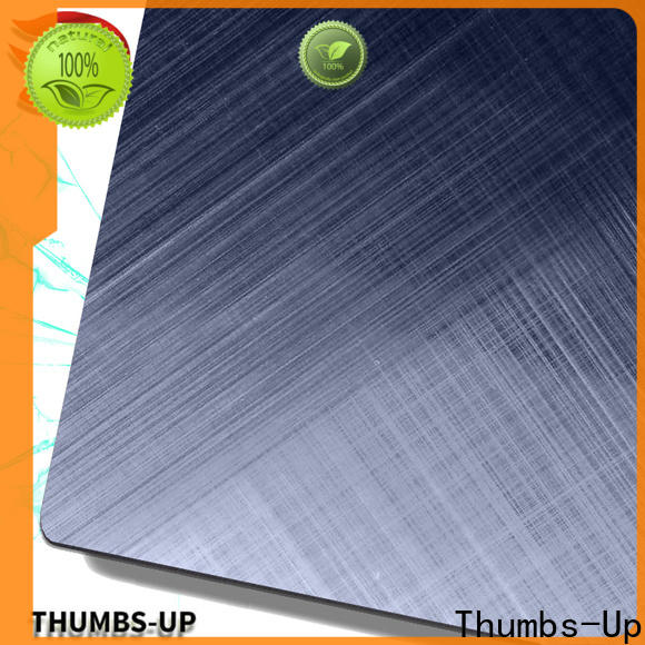 Thumbs-Up sandblasting steel sheet plate manufacturer for ceiling