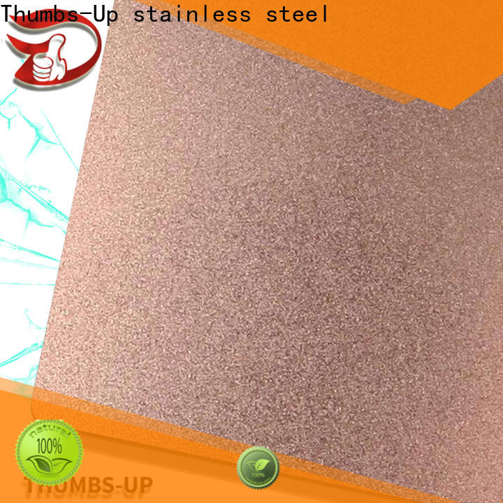 Thumbs-Up hairlinedark standard stainless steel plate sizes factory for ceiling