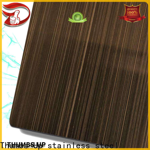 Thumbs-Up nano stainless steel plates online wholesale for hotel