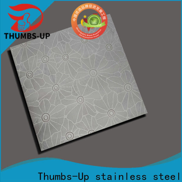Thumbs-Up pearlescent diamond plate supplier for elevator