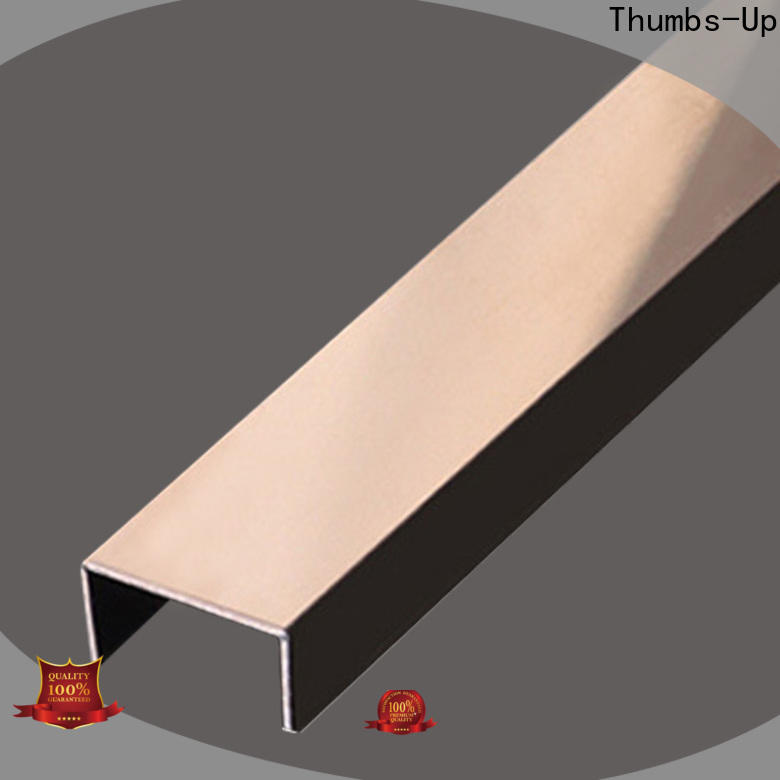 Thumbs-Up plated decorative edging strip supplier for villa