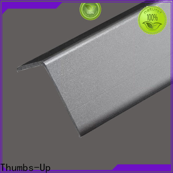 Thumbs-Up brass stainless steel corner trim customized for villa