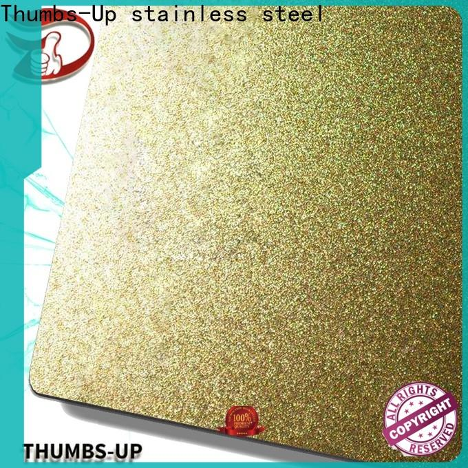 Thumbs-Up sandblasting stainless steel plate sale supplier for cabinet