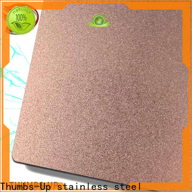 Thumbs-Up nano cutting stainless steel plate supplier for ceiling