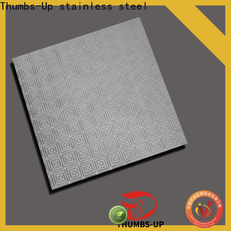 Thumbs-Up peony steel metal texture supplier for building