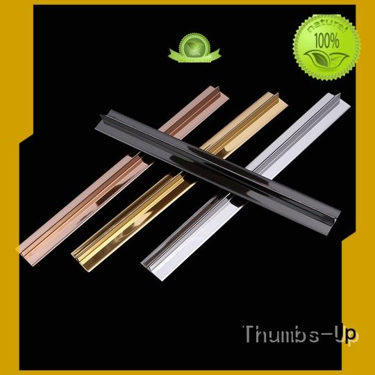 Thumbs-Up edge metal trim for tile backsplash supplier for house