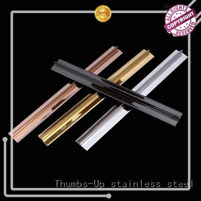 stainless steel transition strip rose decorative stainless steel strips Thumbs-Up Brand