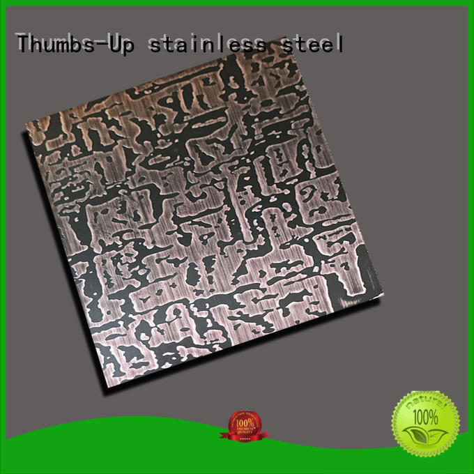 Thumbs-Up ancient stainless steel decorative panels 3d for cabinet